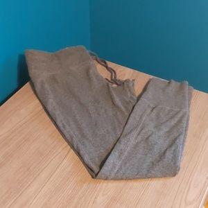 LOFT Grey Sweatpant Leggings